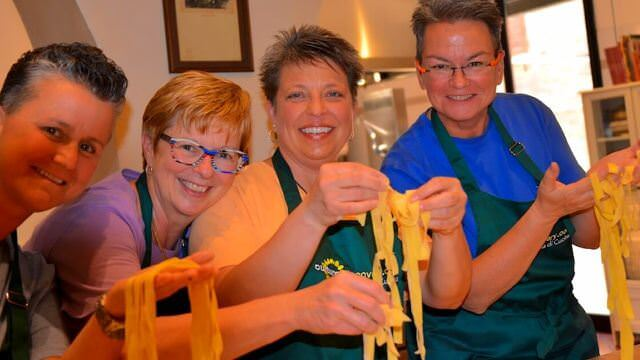 We make pasta in all of our locations. Fresh Pasta is a staple in Italian kitchens.