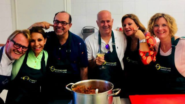 One of our Cooking Class will be at Ca Matilde, restaurant of Andrea Michelin star chef that will lead our class.