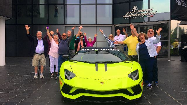 We will have a private visit to the Lamborghini Factory and learn how they assemble this amazing car.