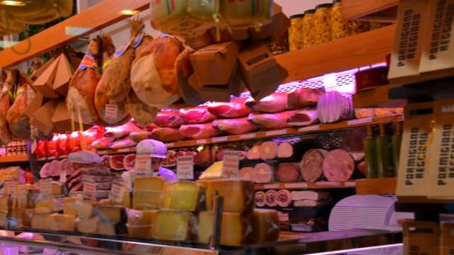 Bologna has a food market that has been in the center of town since medieval times. An authentic, cultural experience