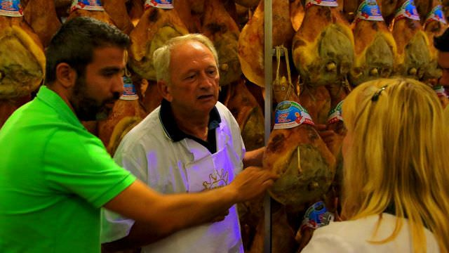 Claudio is a local Parma Prosciutto Producer. He will show us how to make Prosciutto and let us taste his product