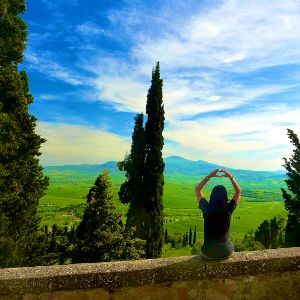 Lovely stop during Chianti Vacation, Pienza it is a small Borgo with a stunning view of Chianti Valley