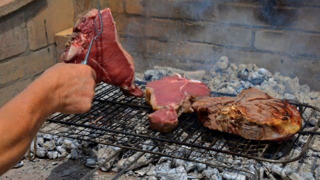 Florentine steak is a must-have culinary experience in the Tuscan region. We enjoy ours deep in the hills of Chianti
