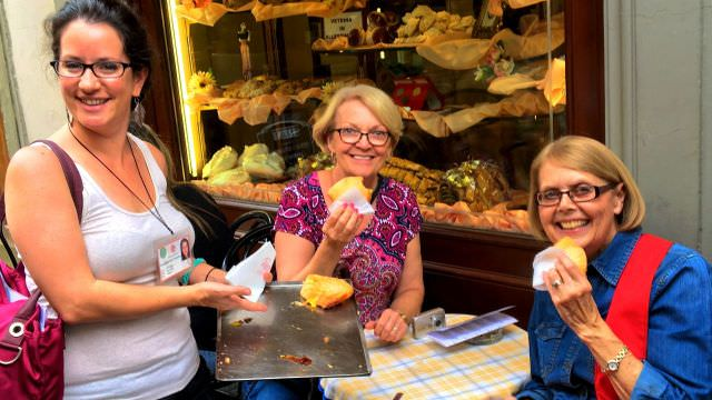 Our Chianti vacation features a full day in Florence with a walking food tour, tasting the best food Florence offers