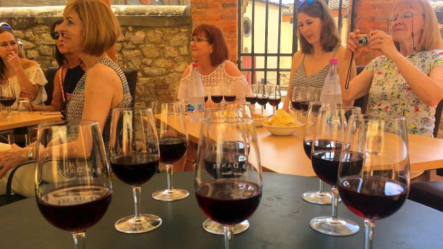 Our Chianti vacation features a wine tasting in a small family run winery to create a more intimate experience