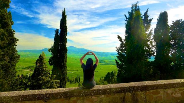 The small town of Pienza offers the perfect view of the Chianti valley, a great chance to appreciate the Tuscan beauty