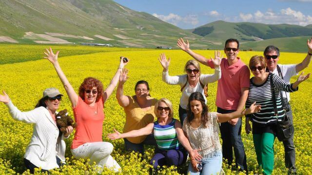 Castelluccio is an undiscovered gem of Italy that we love to highlight on our Umbria vacation