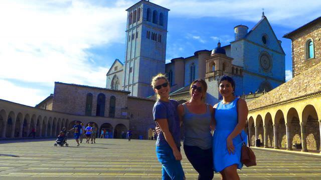 Our Norcia vacation features a trip to beautiful Assisi to explore its well-known basilica