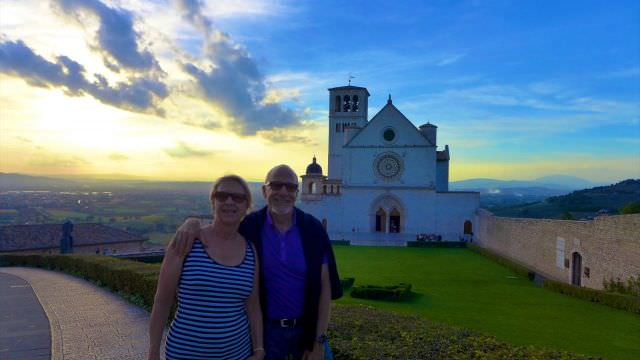 Our day-trip to Assisi provides beautiful views of the Umbrian landscape and scenery