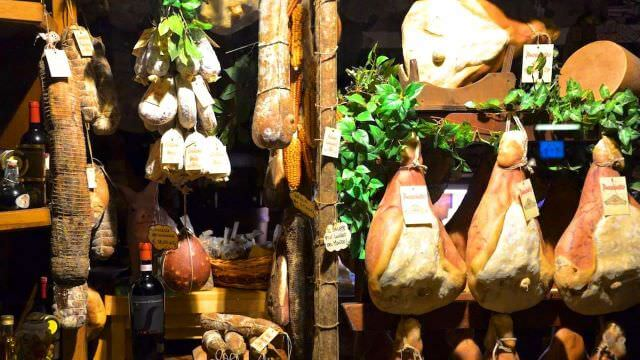 Prosciutto of Norcia is known as one of the most delicious and sought after meats all over Italy