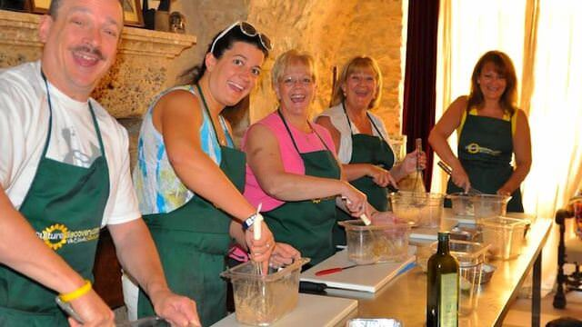 Our Norcia vacation features three full hands on cooking classes where we learn culinary specialties of Umbria