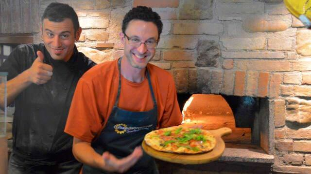 Pizza Experience making pizza with a local masterchef or mkaing the traditional umbria pizza in a loca pastry shop