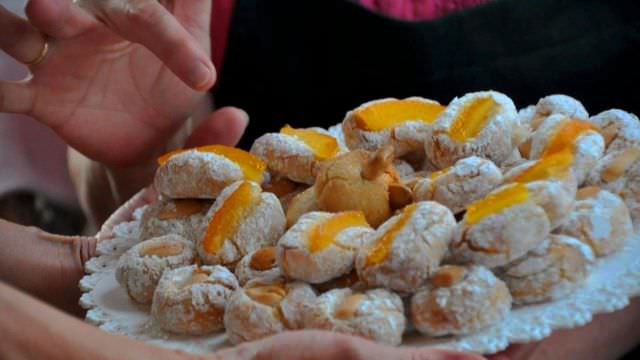 Sicilian Almond cookies are delicious. We make them from scratch on our Favignana, Sicily vacation weeks. So Good!