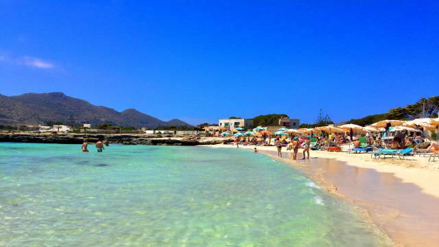 Enjoy some down time and soak in the sun at one of the many fantastic beaches of Favignana, Sicily.