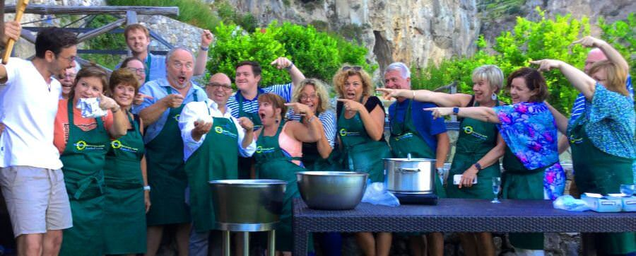 Making Mozzarella on the Amalfi Coast