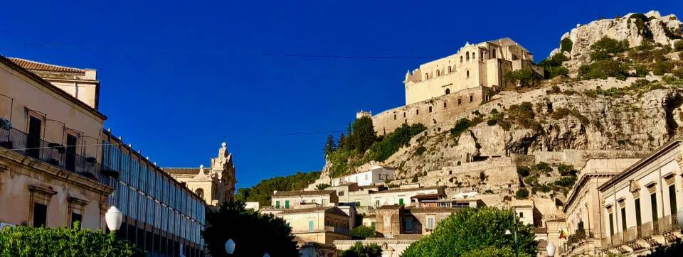 The town of Modica in Southern Sicily