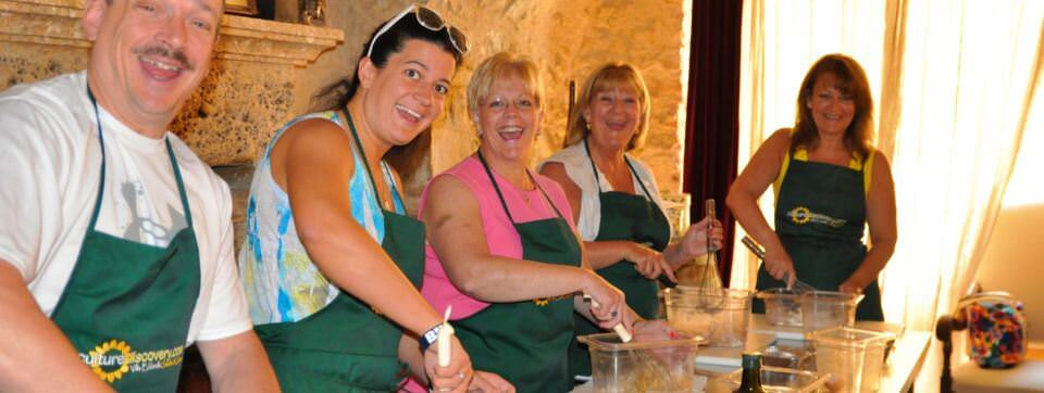 Hand on Cooking Classes