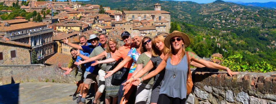 Visit beautiful hilltowns in Umbria
