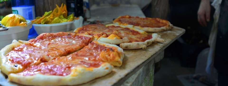 Naples Stle Pizza from our cooking classes in our private Amalfi coast villa