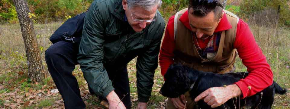 Truffle Hunting in Umbria Italy